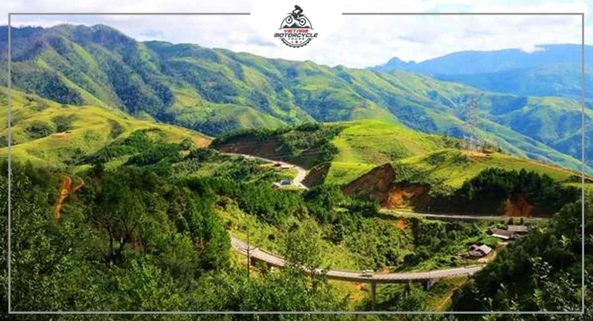 Scenic Road In North Vietnam