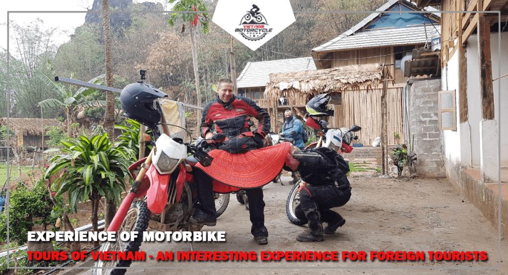Experience of motorbike tours of VietNam