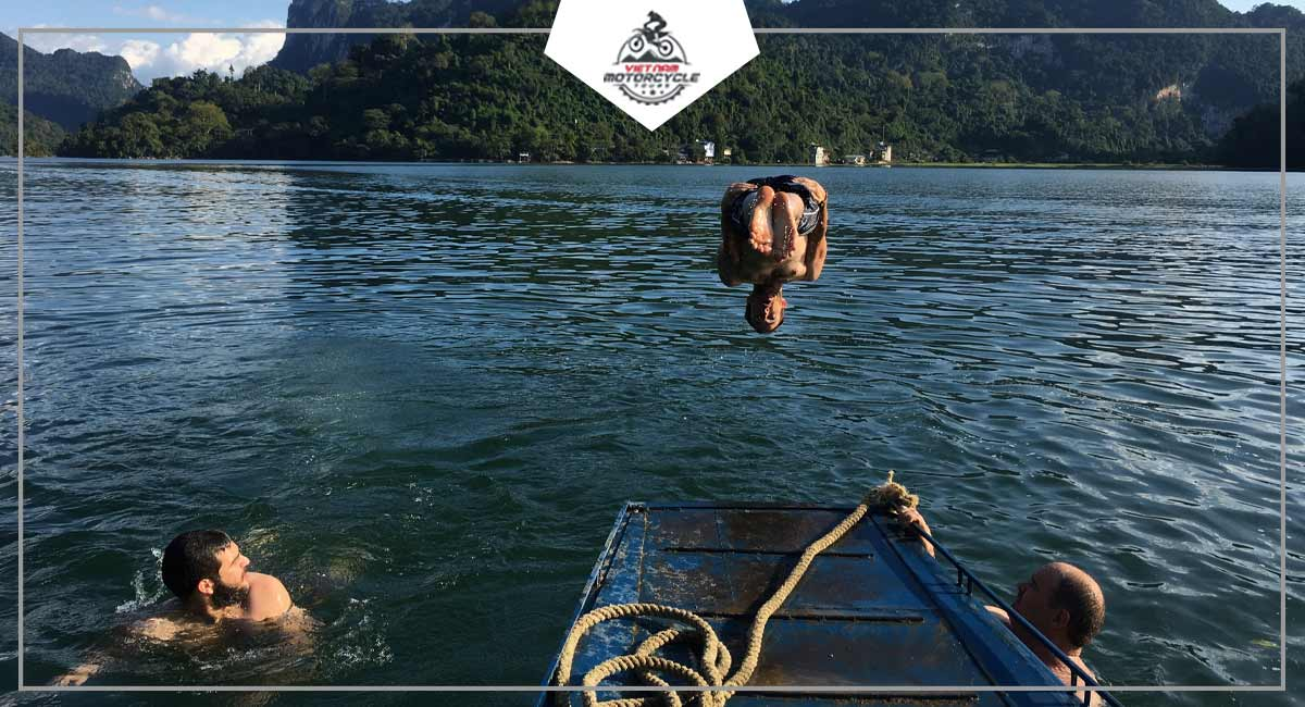 Not-to-be-missed attractions on Ba Be lake motorcycle tours