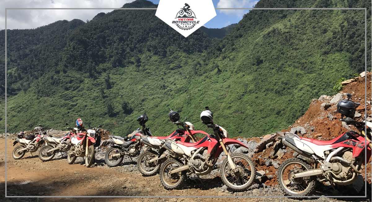 Vietnam motorcycles rental company unit