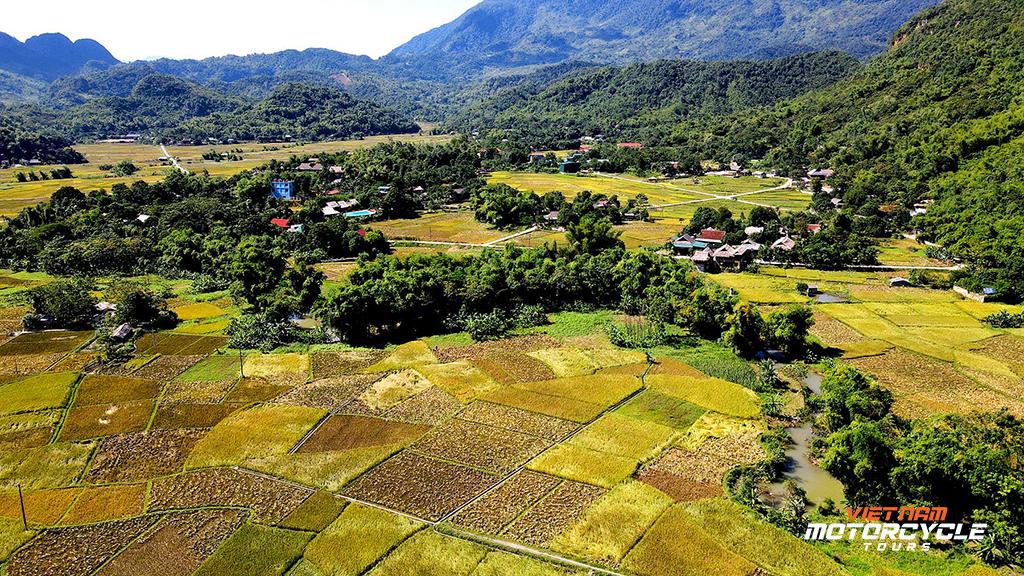 Day 2: Back to Hanoi ( on a loop with a distance 160km): Mai Chau Motorbike