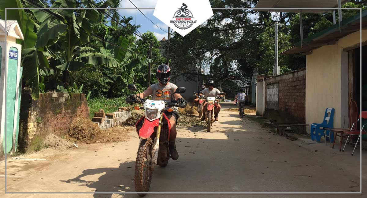 The Classic Motorcycle Tours Route