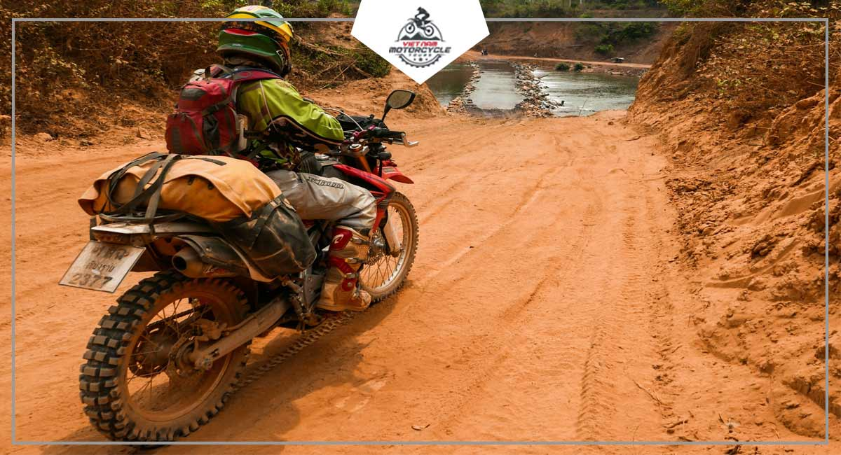 The Big One Route for vietnam offroad motorbike tours