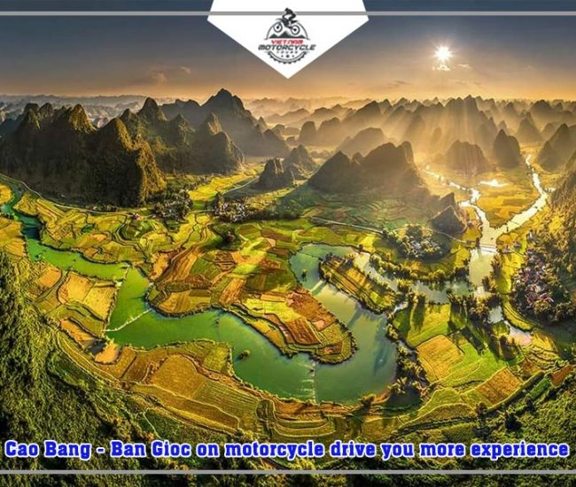 Cao Bang Ban Gioc on motorcycle drive you more experience 1
