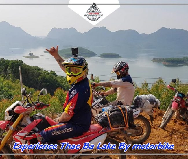 Experience Thac Ba Lake By motorbike 1