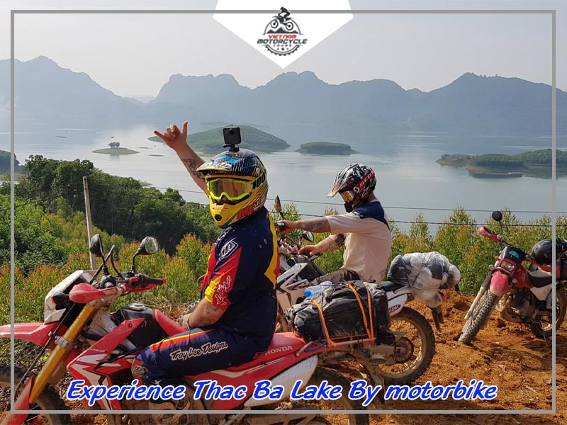 Experience Thac Ba Lake By motorbike