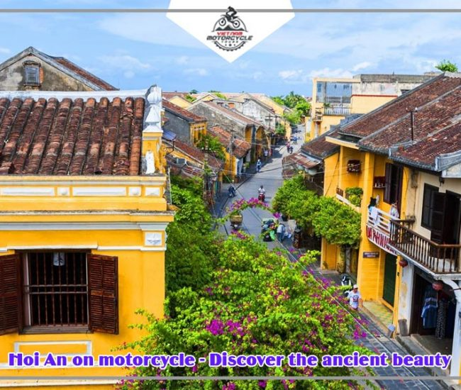 Hoi An on motorcycle Discover the ancient beauty 1