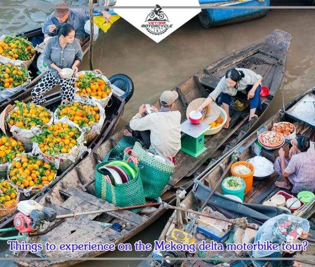 Things to experience on the Mekong delta motorbike tour 1