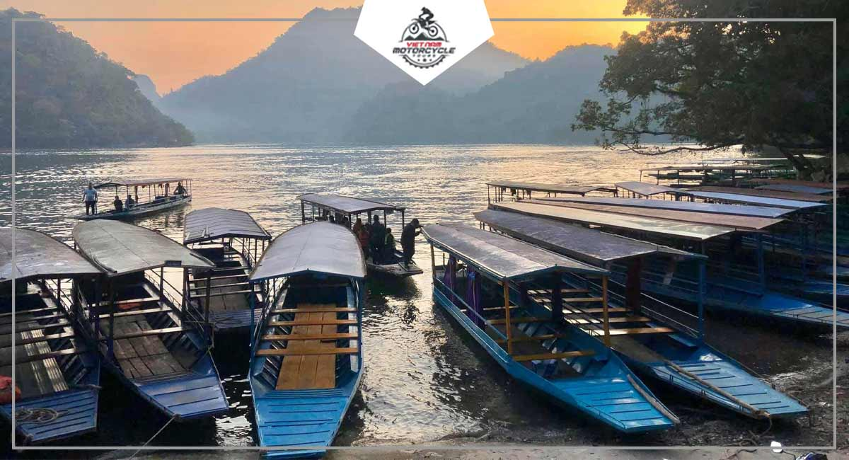Experience Ba Be lake by motorcycle
