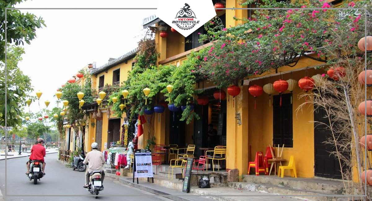 What is the best season to have Hoian on motorcycle