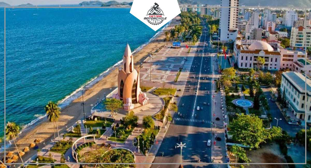 The challenge route to have experience Nha Trang by motorcycle